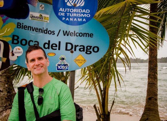 The cabbie dropped us off at Bocas del Drago - which is a 2-minute water taxi ride or a 10-15 minute walk to Playa Estrella. We went by boat and returned on foot - just to see both options.