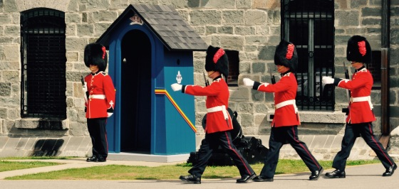 The guards are big fans of Abbey Road. :P