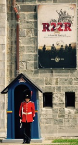 """A sentinel, to """"greet"""" us on our way into the Citadelle."""