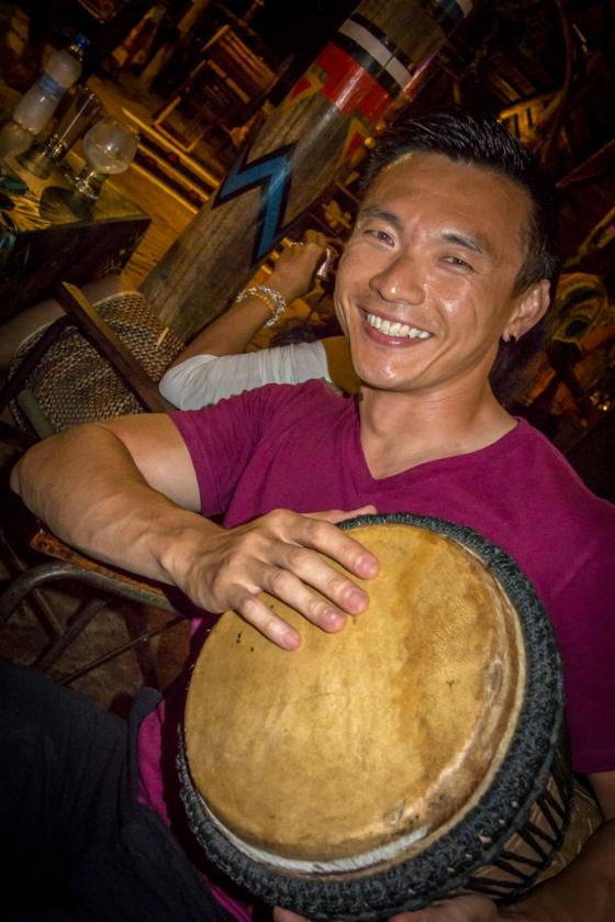 More happy drummers.